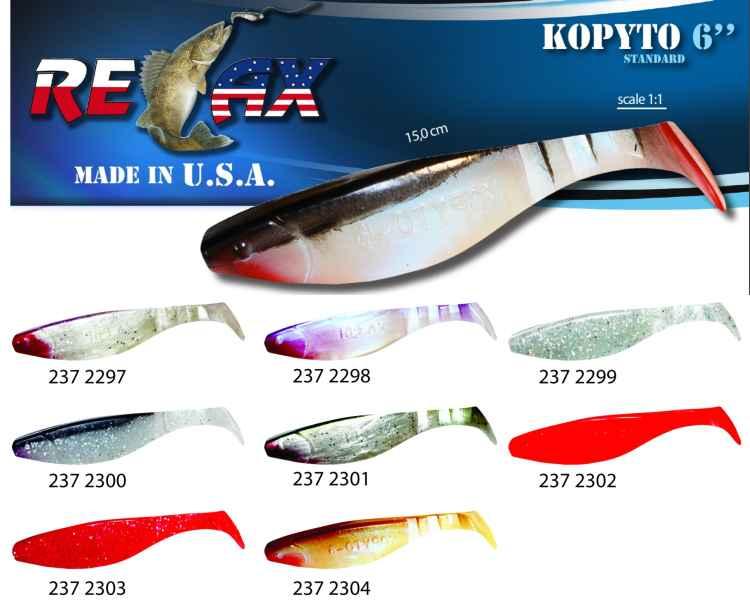 RELAX kopyto RK6 (15cm) cena 1ks/bal5ks 2297