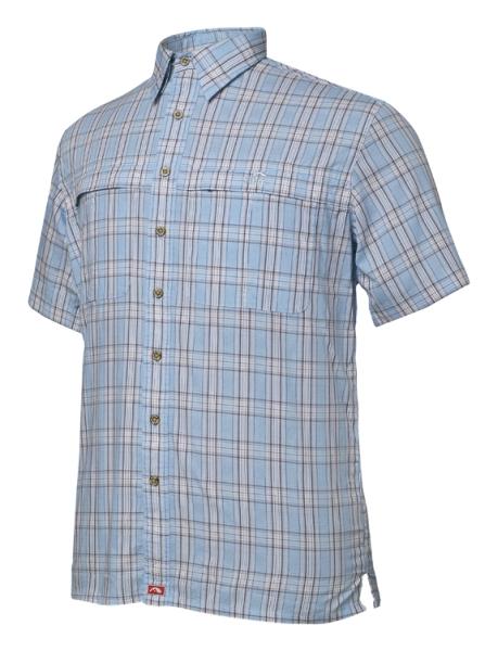 TONGA GEOFF Anderson košile kr.r. modrá M