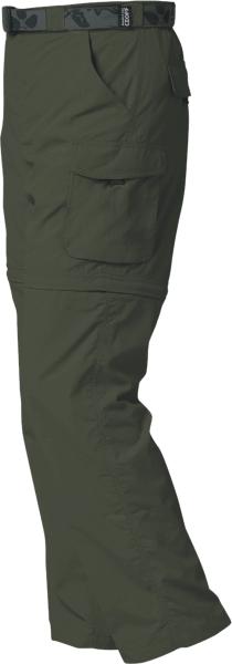 ZIP ZONE kalhoty/kraťasy GEOFFAnderson zelené XS