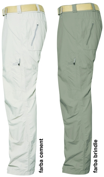 SUKUVU ext.lehké kalhoty GEOFFAnderson cement XS