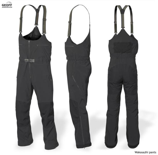 Wakasazhi rybářské kalhoty černé vel.XS