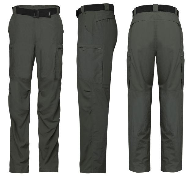 GEOFF kalhoty ZAM (pirát-černé) vel.S