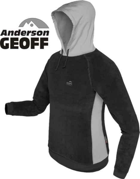 9b95c3d5053 Jabba 2 - flísová mikina s kapucí - GEOFF Anderson