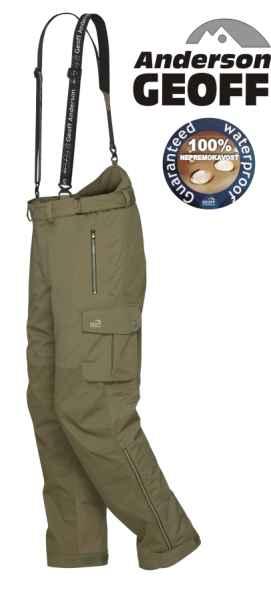 Kalhoty Geoff Anderson URUS 5 zelené XXXXL