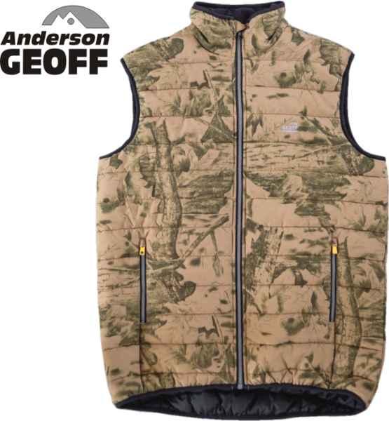 Rybařská vesta Geoff Anderson Dozer Liner Leaf L
