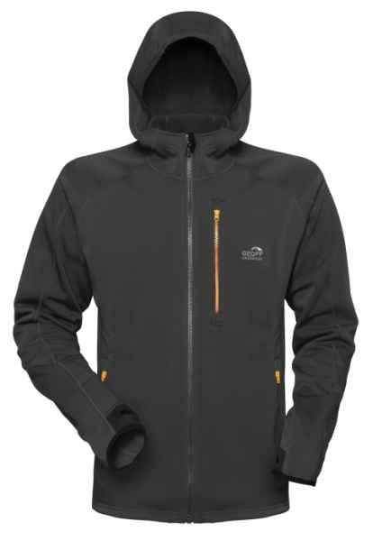 Geoff Anderson bunda z mikro fleece HOODY 3 černá S