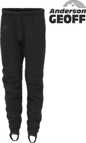 Thermal 3 Geoff Anderson kalhoty - černé S