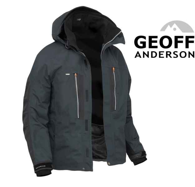 Bunda Geoff Anderson Dozer 6 černá vel.L