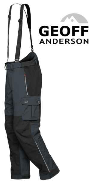 Kalhoty Geoff Anderson Urus 6 černé vel.L