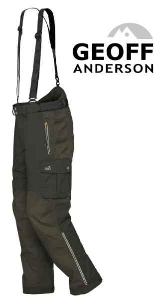 Kalhoty Geoff Anderson Urus 6 zelené vel.XXXXL
