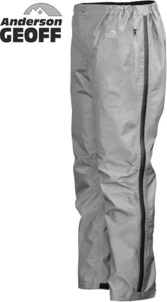 Kalhoty Geoff Anderson Xera 4 - šedé XXXL