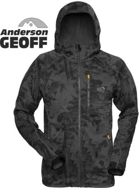 Bunda HOODY3 Geoff Anderson Black/leaf L