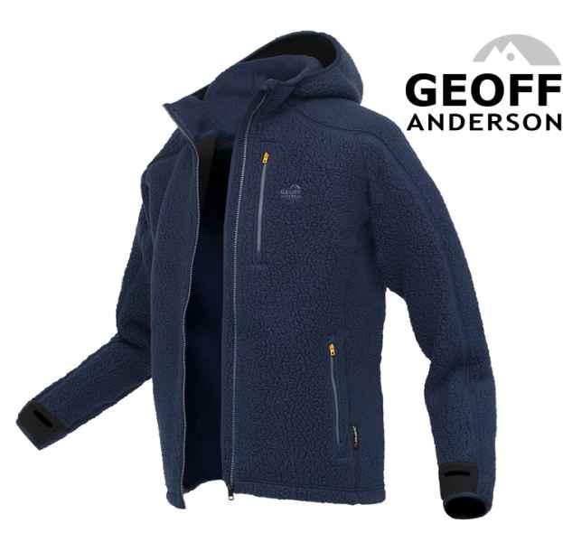 Bunda s kapucí TEDDY Geoff Anderson - Modrý Vel.Jumbo X