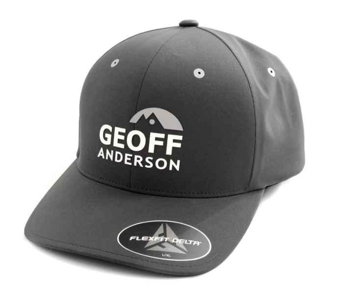 Kšiltovka Geoff Anderson FlexFit Delta šedá vel.L/XL