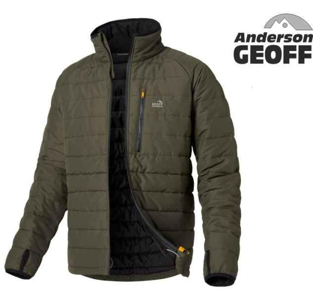 Bunda Geoff Anderson Zesto Thermal zelená vel.XXXXL