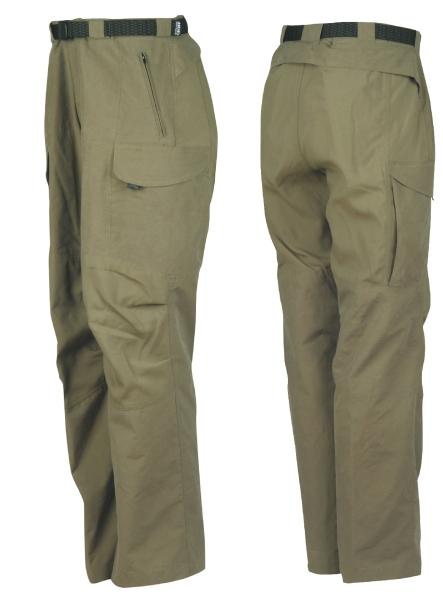 HUNTUS kalhoty GEOFFAnderson šedo-zelené vel.XS