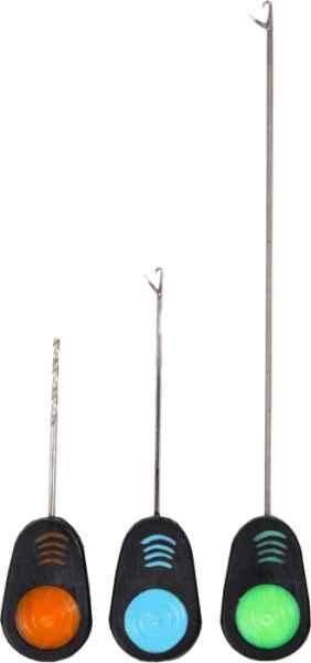 ERGON SET 3v1 jehly na boilies 7cm, 13cm + vrták