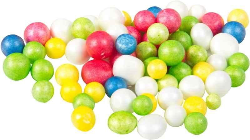 Techno Puffi - polystyrénové kuličky MIX barev