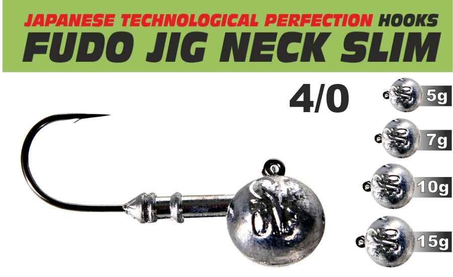 Fudo JIG s krčkem 4/0 balení 5ks 10g
