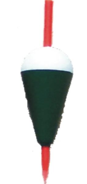 Splávek bílo-zelený S 0.5g