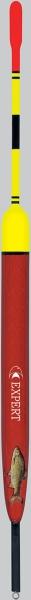 Rybářský balzový splávek(průběžný)EXPERT 1,5g/13cm