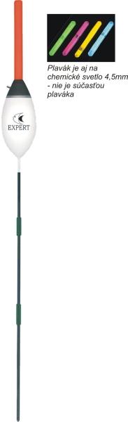 Rybářský balzový splávek (pevný) EXPERT 4g/22cm