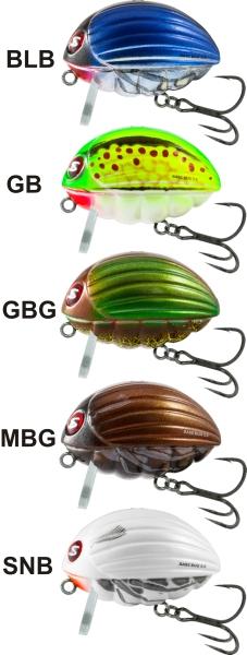 SALMO Wobler Bass Bug BG5,5 barva BLB