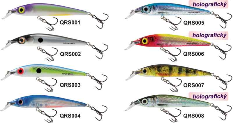 Salmo wobler Rattlin STING 9F Table Rock Shad Floating 9cm
