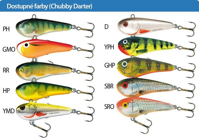 SALMO Wobler Chubby Darter CD5 barva PH