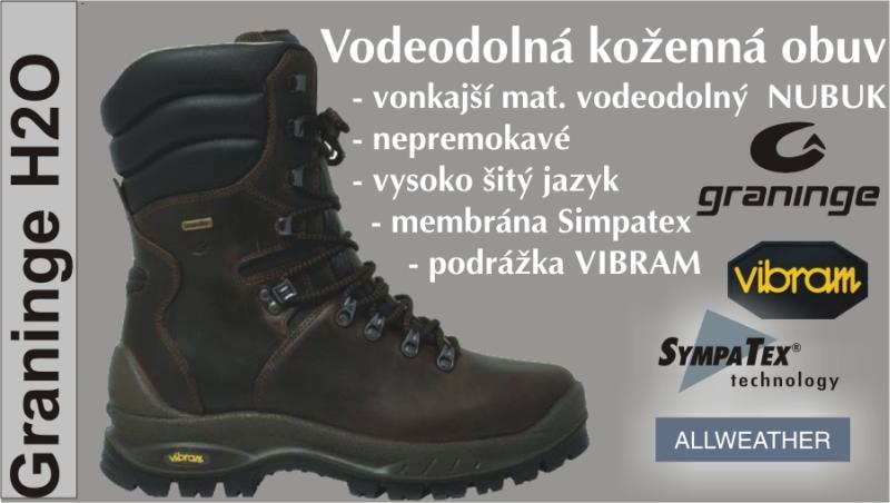 H2O obuv Graninge G 7042 360 281 - H2O obuv Graninge G 7042