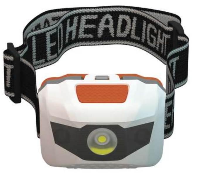 Rybářská čelová lampa 3 LED diódy