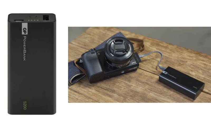 Dobíjecí batérie - GP Powerbank 5000 mA - 1C05