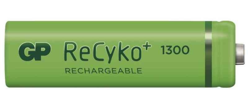 Baterie GP RECYKO 1,2V / 1300mA - AA - cena za 1ks