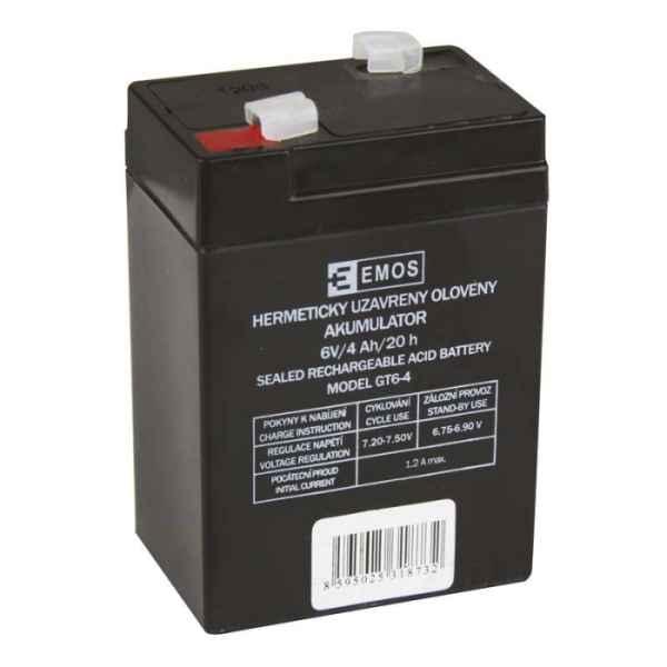 Olověný nabíjecí akumulátor 6V / 4Ah