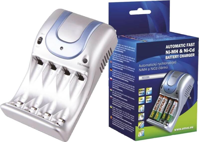 Inteligentní plug-in nabíječka baterií AA / AAA KN-8501