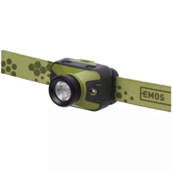 Rybářská CREE LED čelovka svítivost 330lm 3xAAA