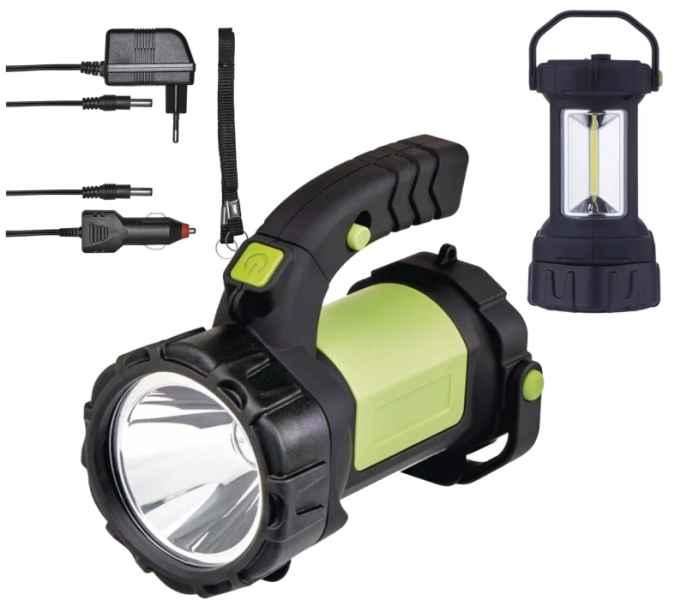 Nabíjecí svítilna LED CREE + COB 5W