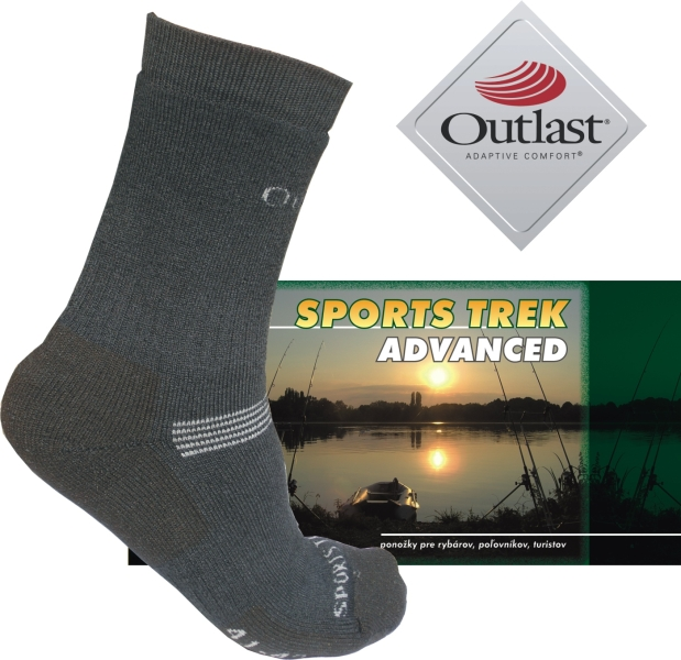 Thermo ponožky SPORTS Trek Advanced 37-40