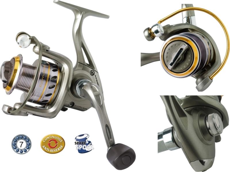 Rybářský naviják Trophy Carver720FD- přední brzda