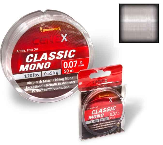 Feeder silon Cenex Classic Mono - průhledný 100m 0,16mm / 2,60kg