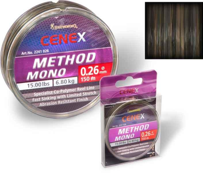 Browning Cenex feeder silon - Method Mono 150m 0,26mm