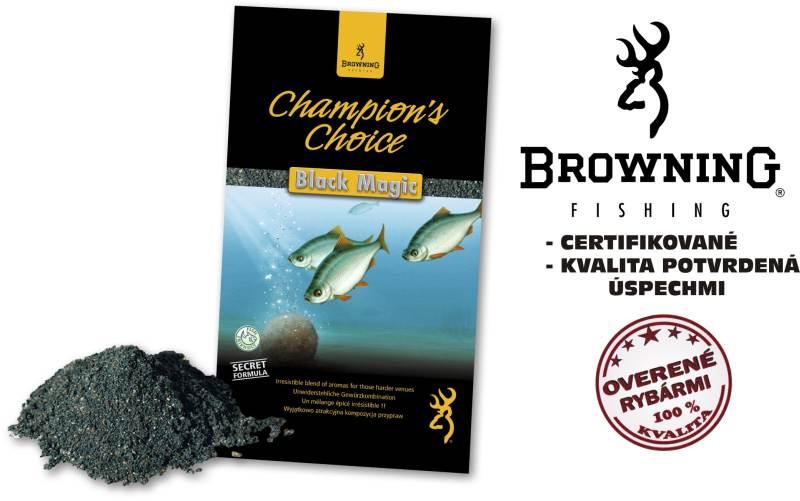 Krmivo browning champions choice 1kg black magic
