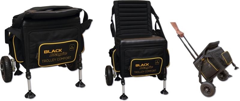 Sedací Box Black Magic Trolley Comfort 42x52cm