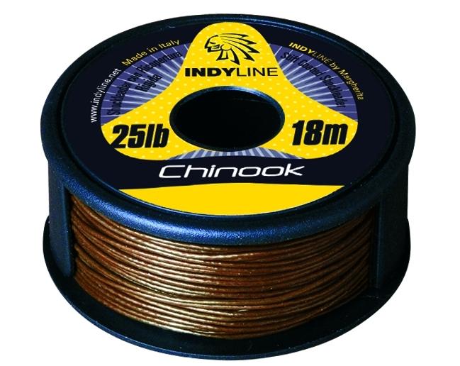 Rybářská šňůra Indy Line Chinook 35lb/18m