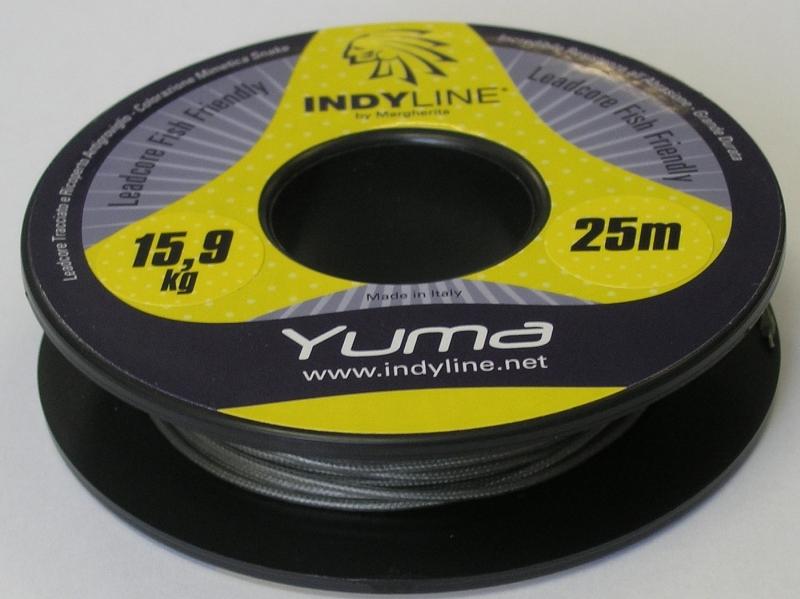 Rybářská šňůra Indy Line Yuma 35lb/25m