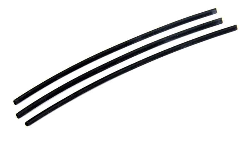 Bužírka PVC smrštitelná černá (3ks) 1,6/0,8mm