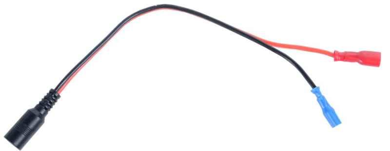 Nabíjecí kabel na baterku pro zavážecí loďky M1 a M2