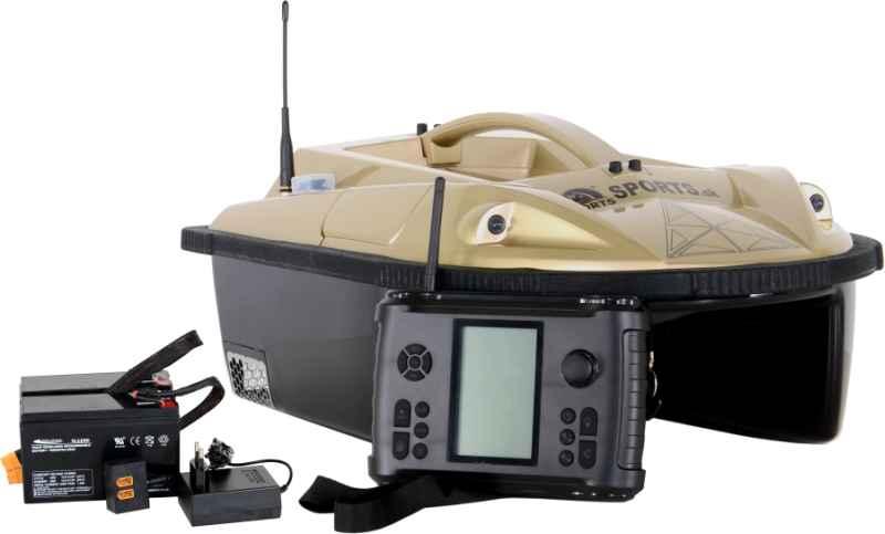 Zavážecí loďka Prisma 5 se sonarem a GPS - SET