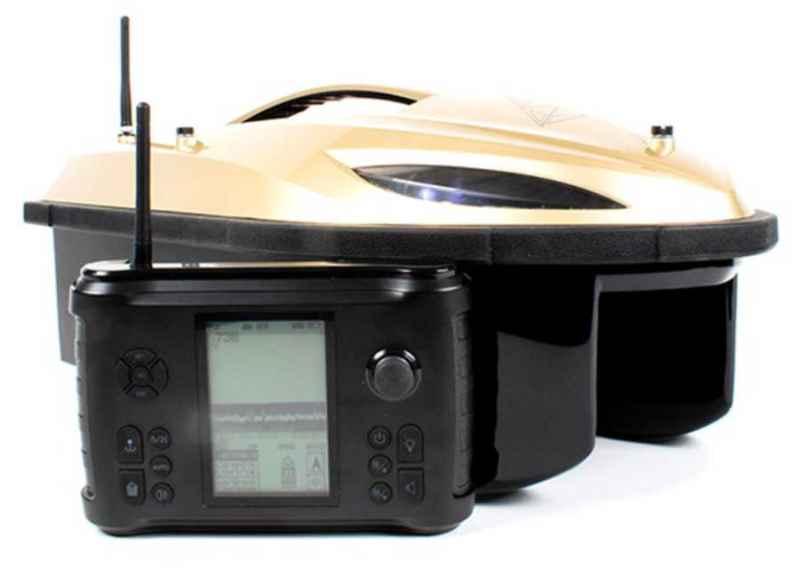 Zavážecí loďka Prisma 3 se sonarem a GPS