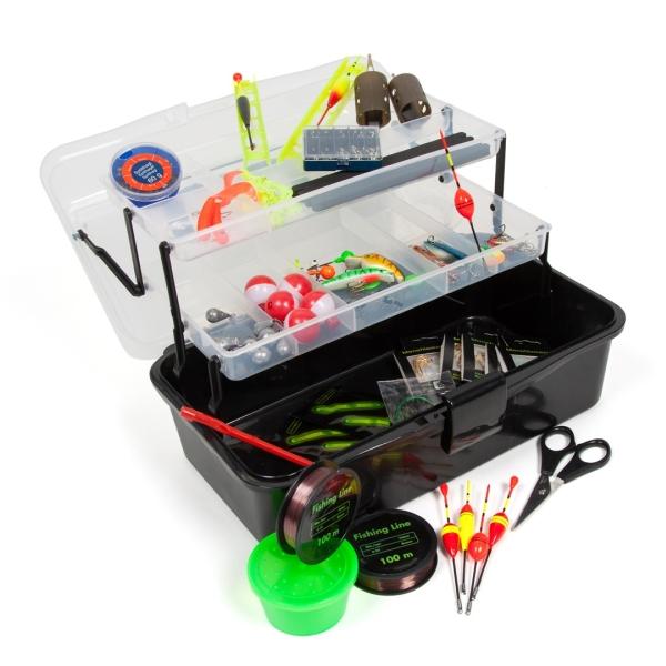Rybářský kufřík + MAXI výbava pro každého